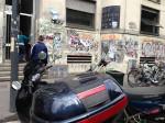 A scuola in moto