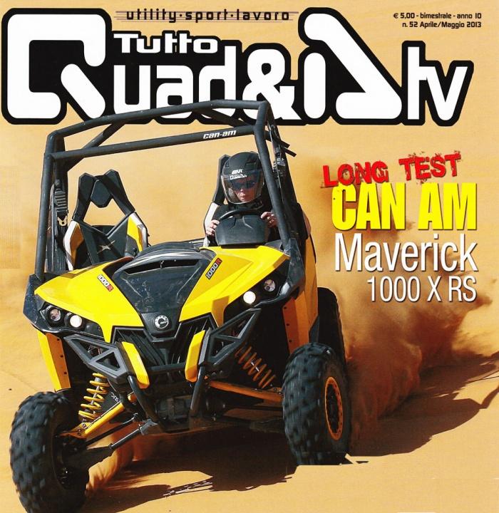 Presentato in Marocco il nuovo CAN-AM Maverick 1000 X RS