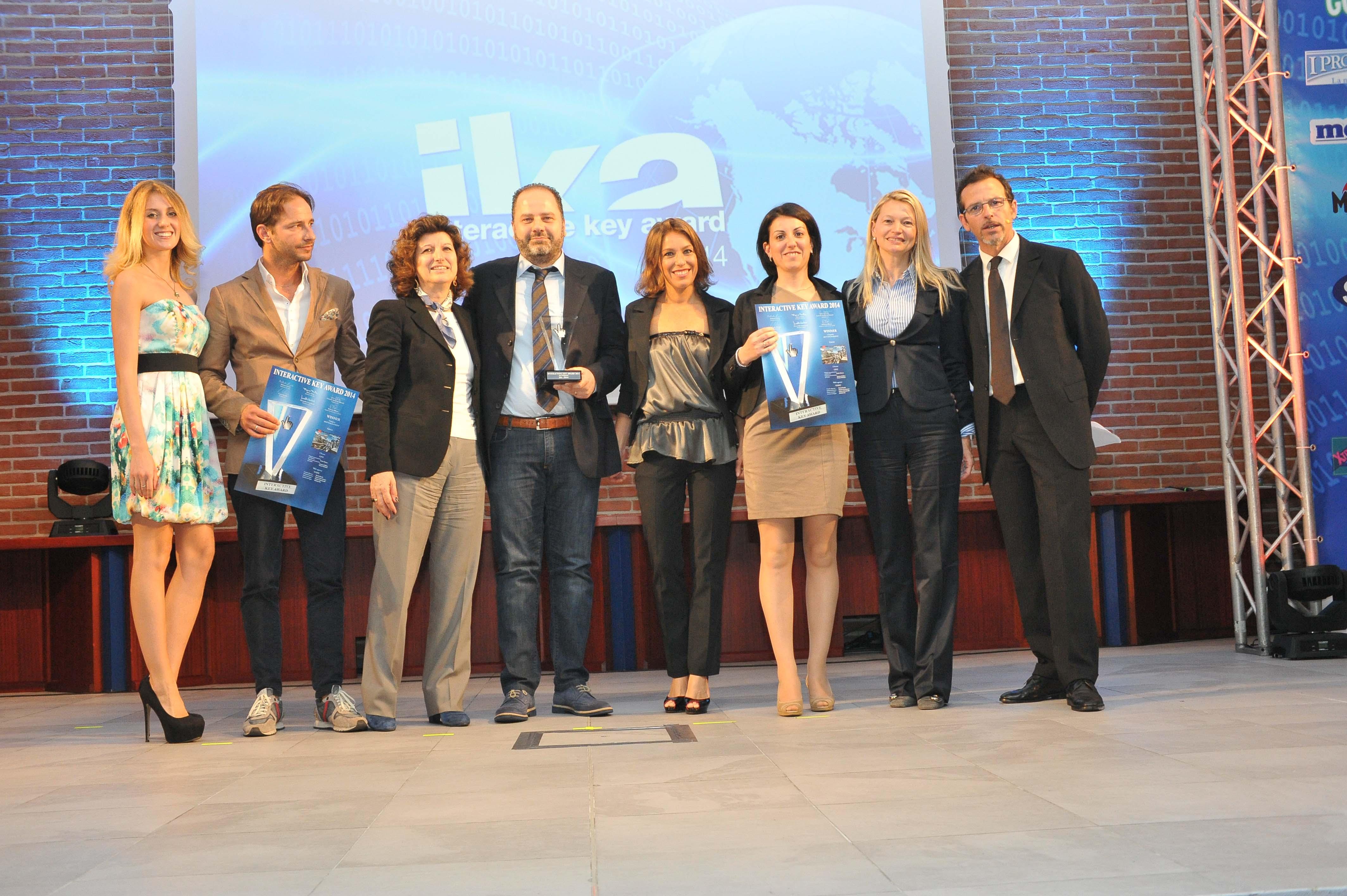 Premiazione L'INTERACTIVE KEY AWARD